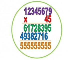 multiplicando el número no deseado