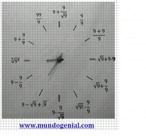 reloj 999