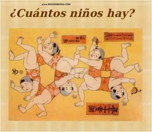 CUANTOS NIÑOS HAY