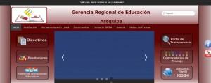 GERENCIA REGIONAL DE EDUCACIÓN AREQUIPA