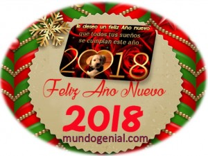 feliz año nuevo 2018 mundo genial