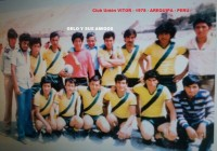 cluB unión VITOR - 1978