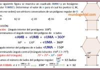 En la siguiente figura se muestra un cuadrado AMBO y un hexágono...