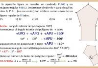 en la siguiente figura se muestra un cuadrado y un pentágono.........