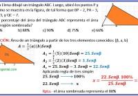María Elena dibujó un triángulo ABC.....luego, ubicó los puntos P .....