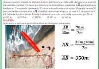 Una persona está situado en el punto A cerca del litoral y un bote está ubicado en el punto B mar adentro.....