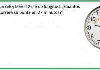 el minutero de un reloj tiene 12 cm de longitud. ....