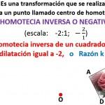 homotecia inversa