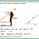 María Elena de 1,70m de estatura observa......