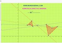 HOMOTECIA DIRECTA E INVERSA 2018