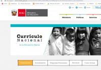 CURRÍCULO NACIONAL DE LA EDUCACIÓN BÁSICA