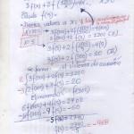 LA FUNCIÓN f está definida para todo los númeeros ....