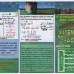 TRIPTICO 3 SISTEMA DE ECUACIONES - PROBLEMAS