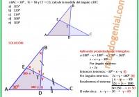 En la figura, T es el punto de intersección de los segmentos BD y EC.....