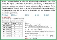 María Elena estudia en un instituto de idiomas y está matriculado en el curso de inglés.....