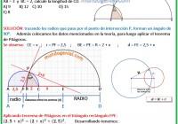 en la figura se muestra dos semicircunferencias de diámetro........