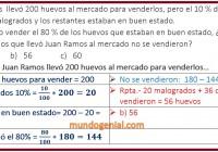 Juan Ramos llevó 200 huevos al mercado para ...............
