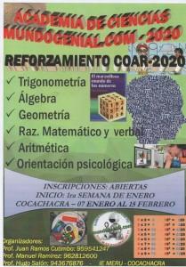academia mundogenial 1- 2020