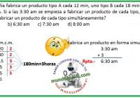 una compañía fabrica un producto tipo A cada 12 min.......