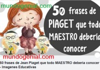 50 frases de Jean Piaget