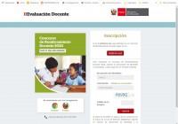 evaluación docente nombramiento 2020