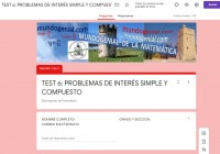 PROBLEMAS DE INTERÉS SIMPLE Y COMPUESTO