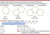 Las figuras representan las estructuras químicas...