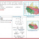 calcula el área aproximada de la superficie....