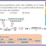 diego mide la distancia geométrica....