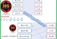 la razón entre dos números a y b es ....