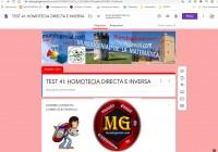 HOMOTECIA DIRECTA E INVERSA