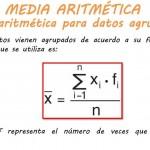 MEDIA ARITMÉTICA DATOS AGRUPADOS