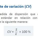 coeficiente de variación 2