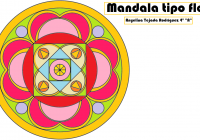 MANDALA TIPO FLOR