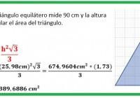 el perímetro de un triángulo equilátero mide ......
