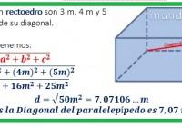 las dimensiones de un rectoedro.....